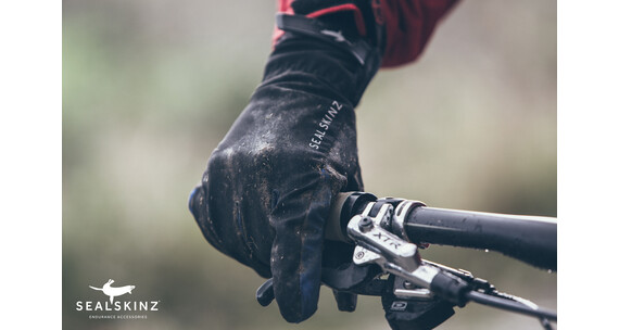 SealSkinz All Weather XP Cycle Glove Black/Black